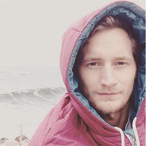 Tobias kiteinstruktör @ Gusty kiteskola
