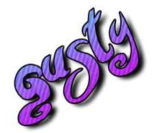 Gusty's old logo