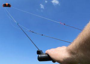 4 lines trainer kite